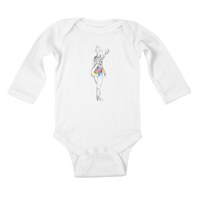 Plays Nice Kids Baby Longsleeve Bodysuit by Lose Your Reputation