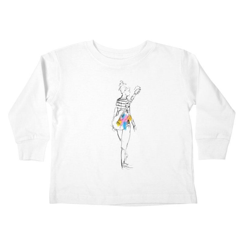 Plays Nice Kids Toddler Longsleeve T-Shirt by Lose Your Reputation
