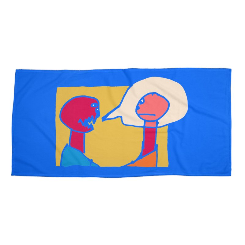 Listen Intently Accessories Beach Towel by Lose Your Reputation