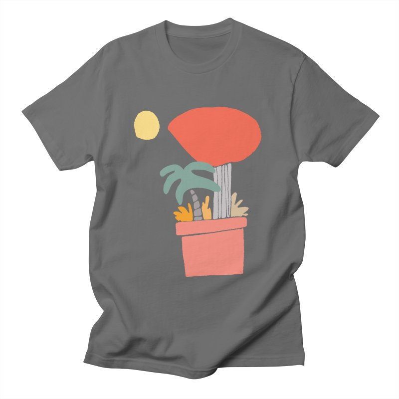 Potted Plants Men's T-Shirt by Lose Your Reputation
