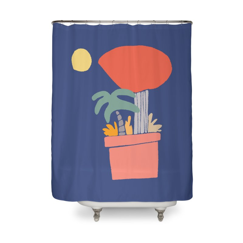 Potted Plants Home Shower Curtain by Lose Your Reputation