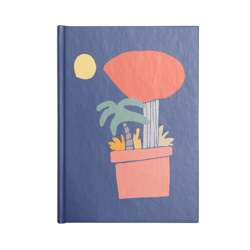 Potted Plants Accessories Notebook by Lose Your Reputation