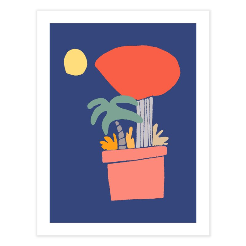 Potted Plants Home Fine Art Print by Lose Your Reputation