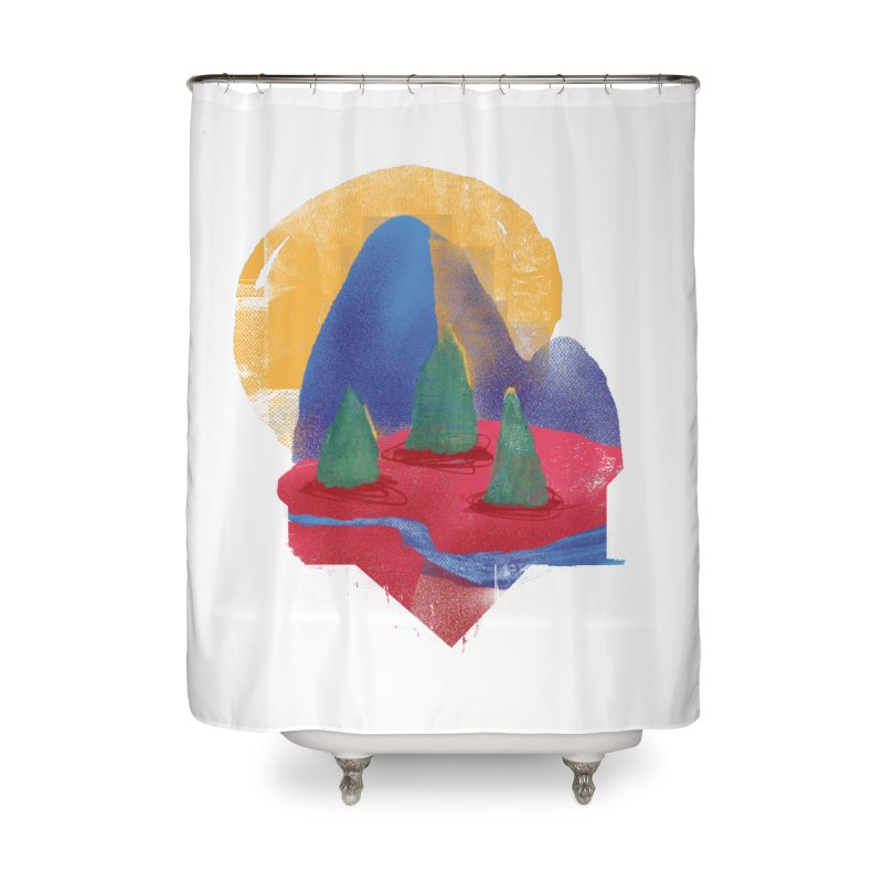 Imprints Home Shower Curtain by Lose Your Reputation