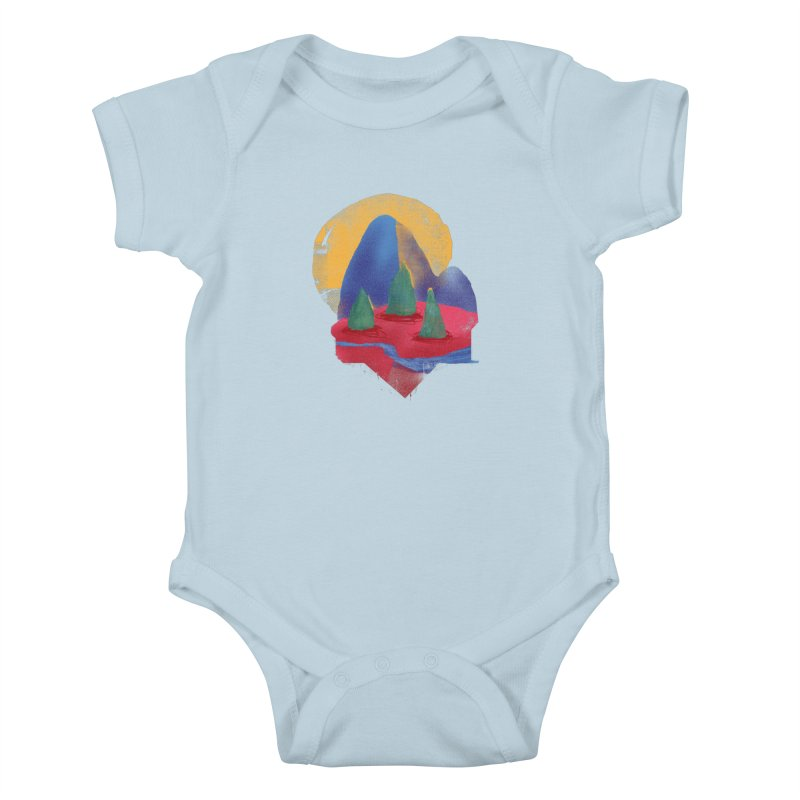 Imprints Kids Baby Bodysuit by Lose Your Reputation