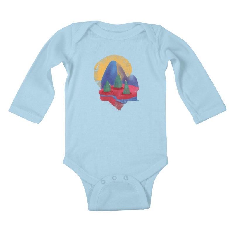 Imprints Kids Baby Longsleeve Bodysuit by Lose Your Reputation