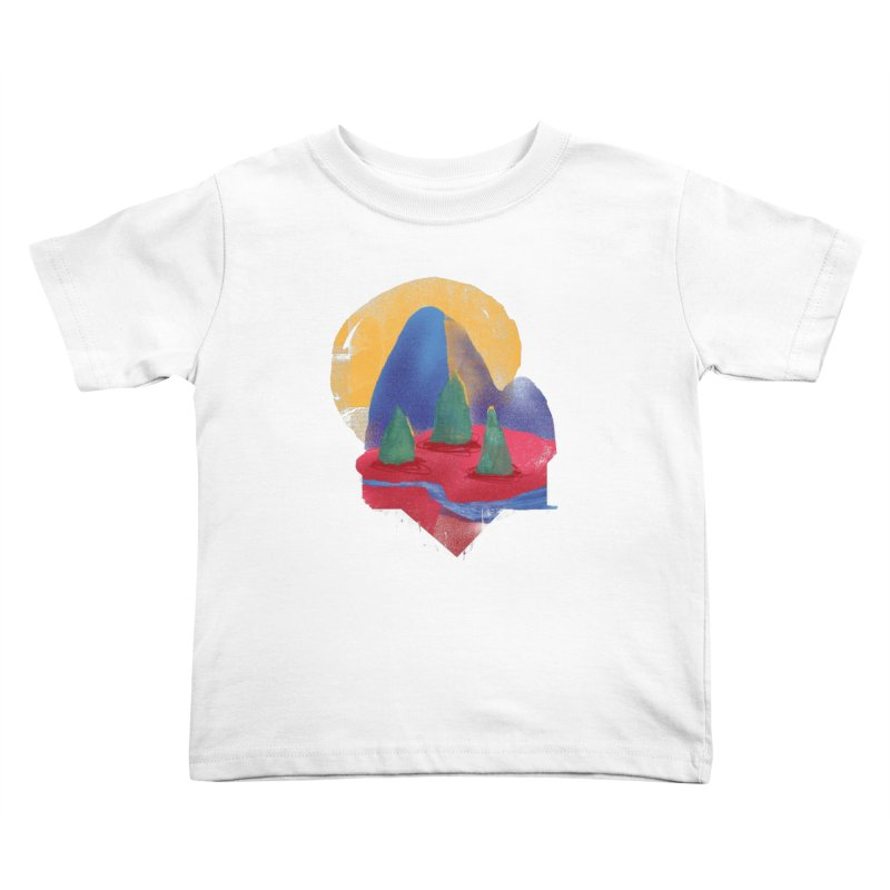 Imprints Kids Toddler T-Shirt by Lose Your Reputation
