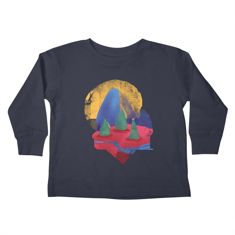 Imprints Kids Toddler Longsleeve T-Shirt by Lose Your Reputation