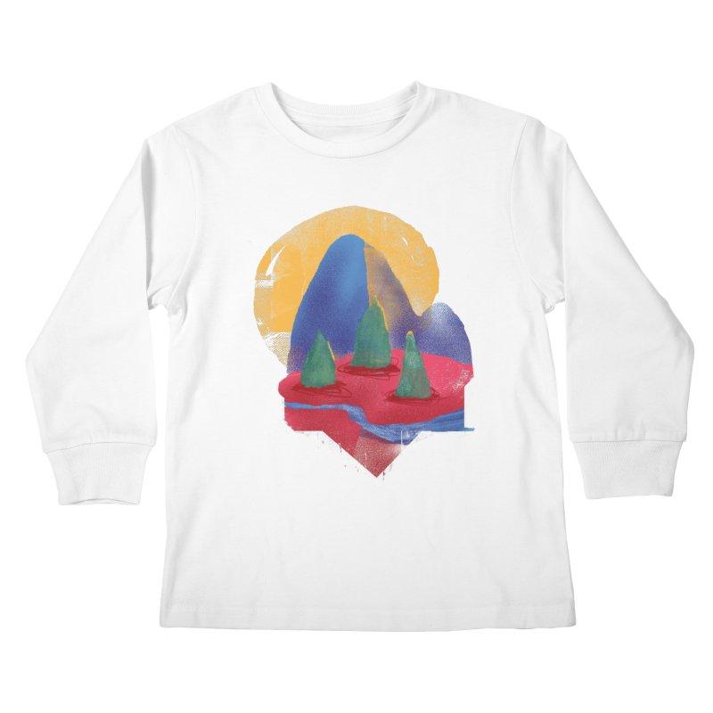 Imprints Kids Longsleeve T-Shirt by Lose Your Reputation