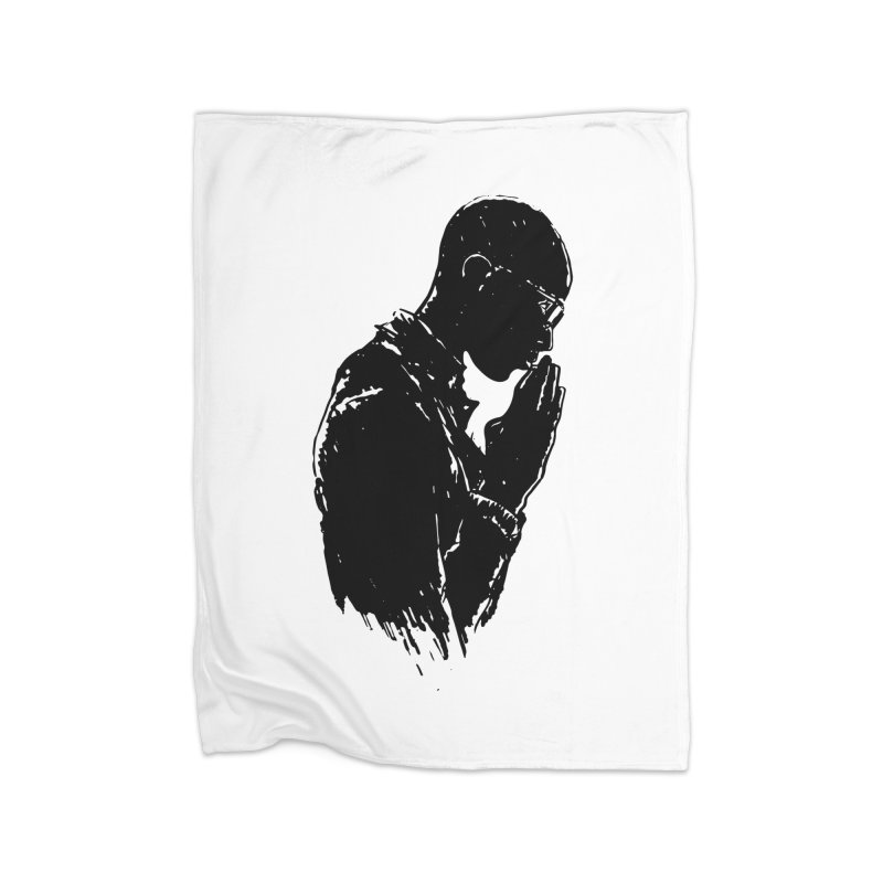 Believe Home Fleece Blanket Blanket by Lose Your Reputation