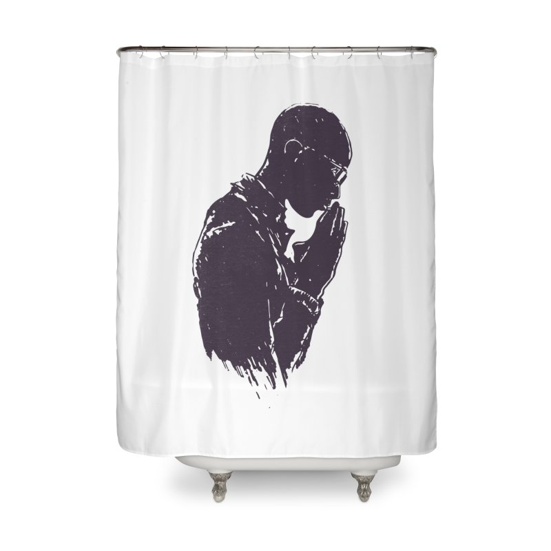 Believe Home Shower Curtain by Lose Your Reputation