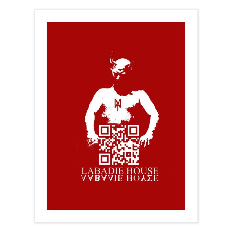 Devil Man Home Fine Art Print by Labadie House