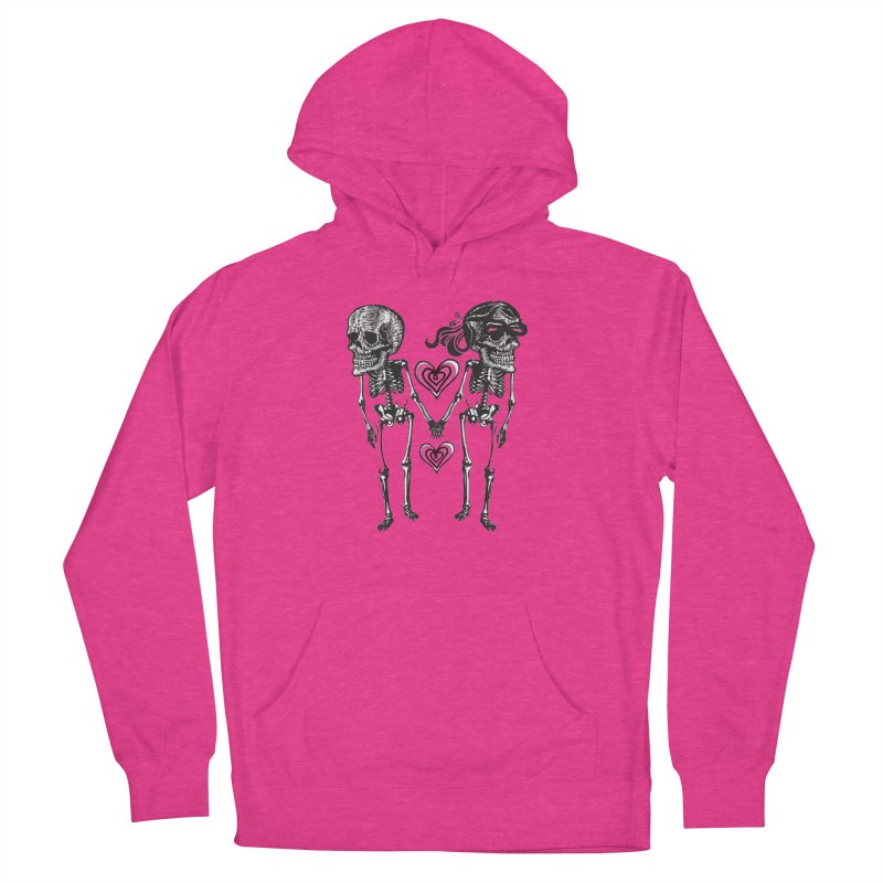 Till death do us part Women's French Terry Pullover Hoody by Lads of Fortune Artist Shop