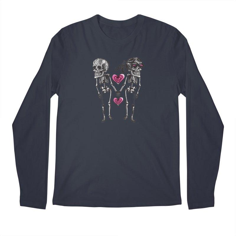 Till death do us part Men's Regular Longsleeve T-Shirt by Lads of Fortune Artist Shop
