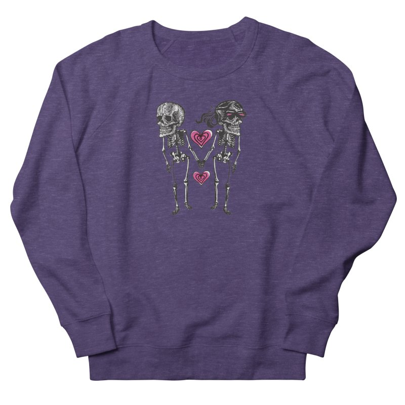Till death do us part Women's French Terry Sweatshirt by Lads of Fortune Artist Shop