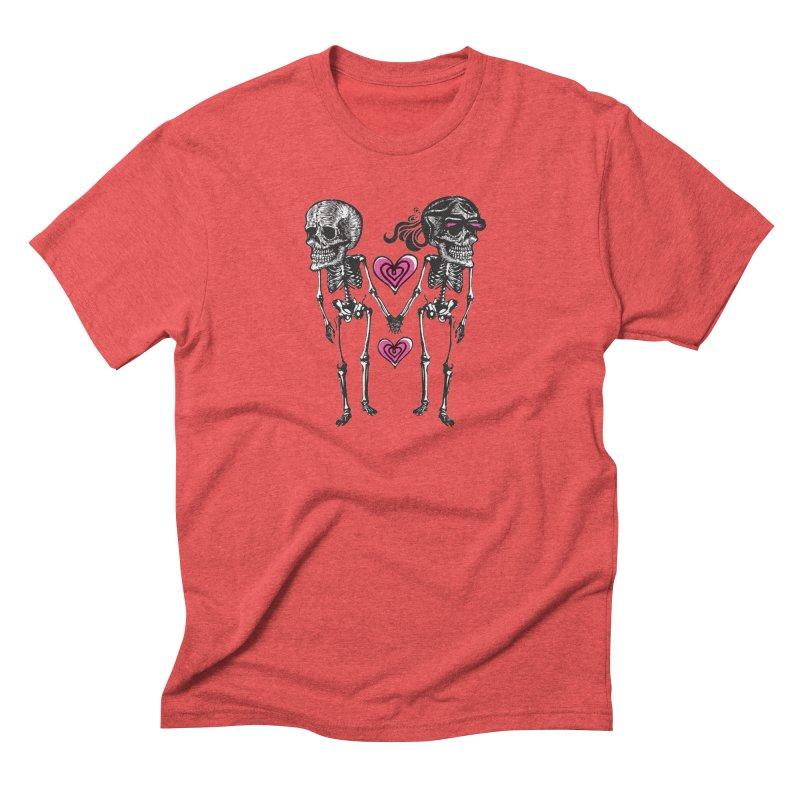 Till death do us part Men's Triblend T-Shirt by Lads of Fortune Artist Shop