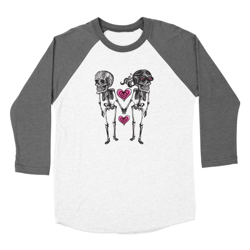 Till death do us part Women's Baseball Triblend Longsleeve T-Shirt by Lads of Fortune Artist Shop
