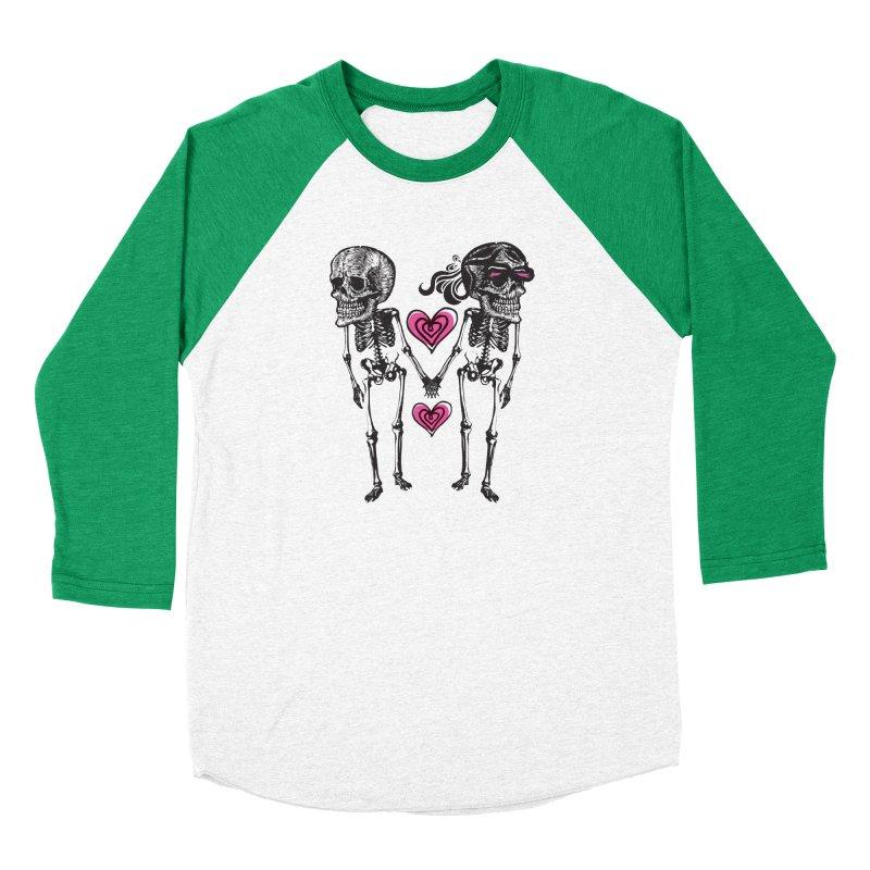 Till death do us part Women's Baseball Triblend Longsleeve T-Shirt by Lads of Fortune Artist Shop