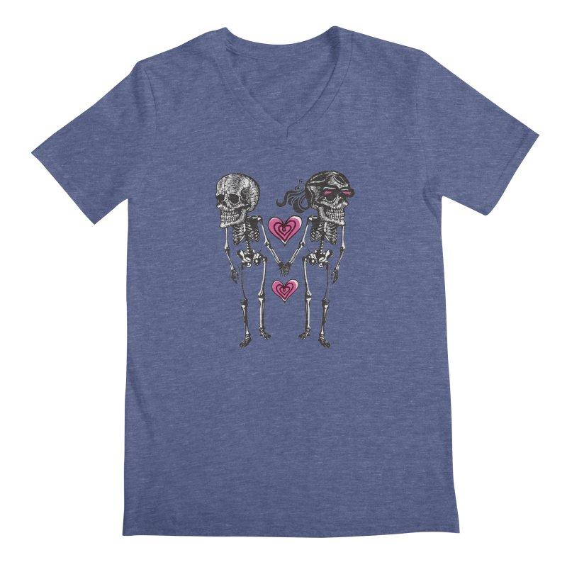 Till death do us part Men's V-Neck by Lads of Fortune Artist Shop