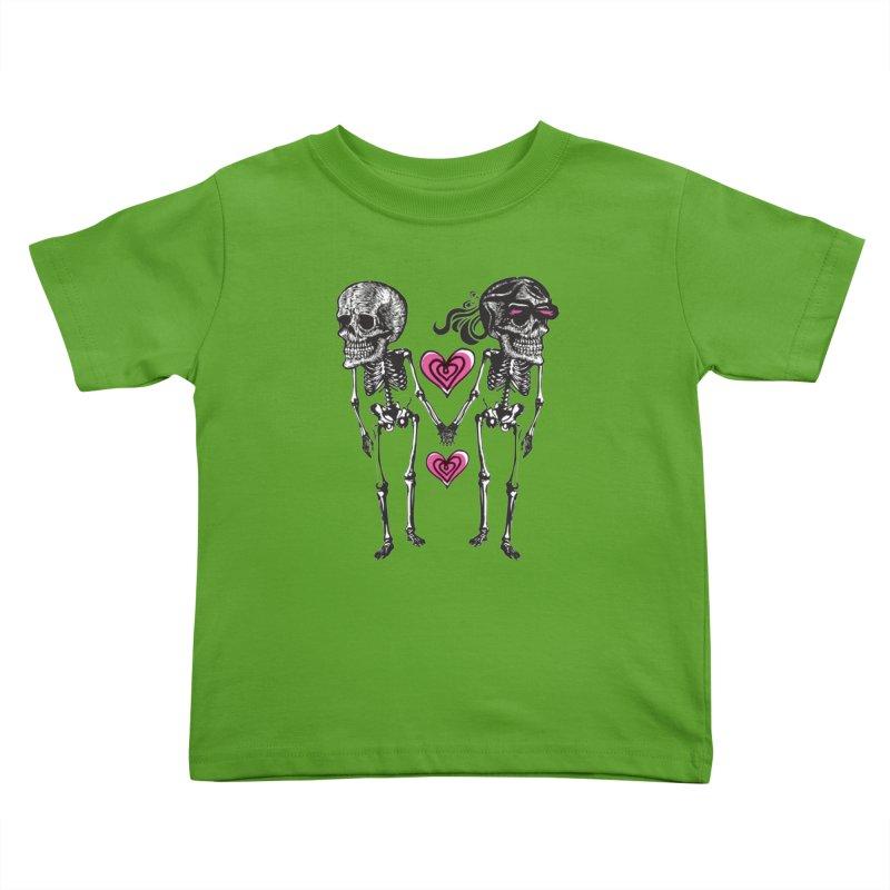 Till death do us part Kids Toddler T-Shirt by Lads of Fortune Artist Shop