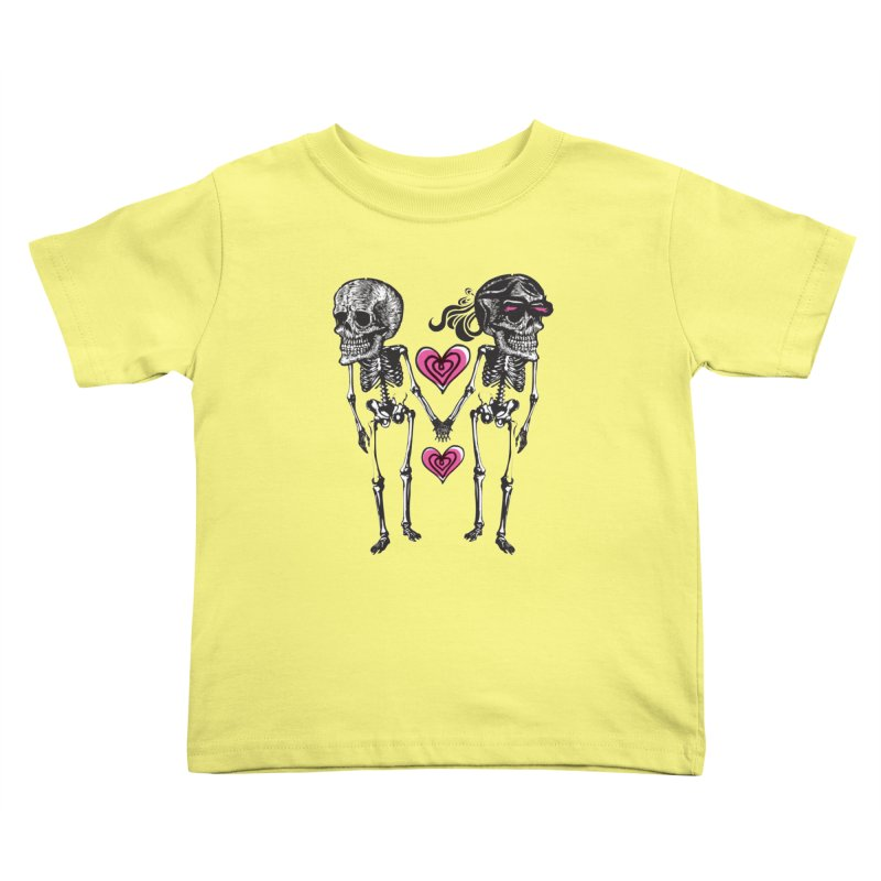 Till death do us part Kids Toddler T-Shirt by Lads of Fortune Artist Shop