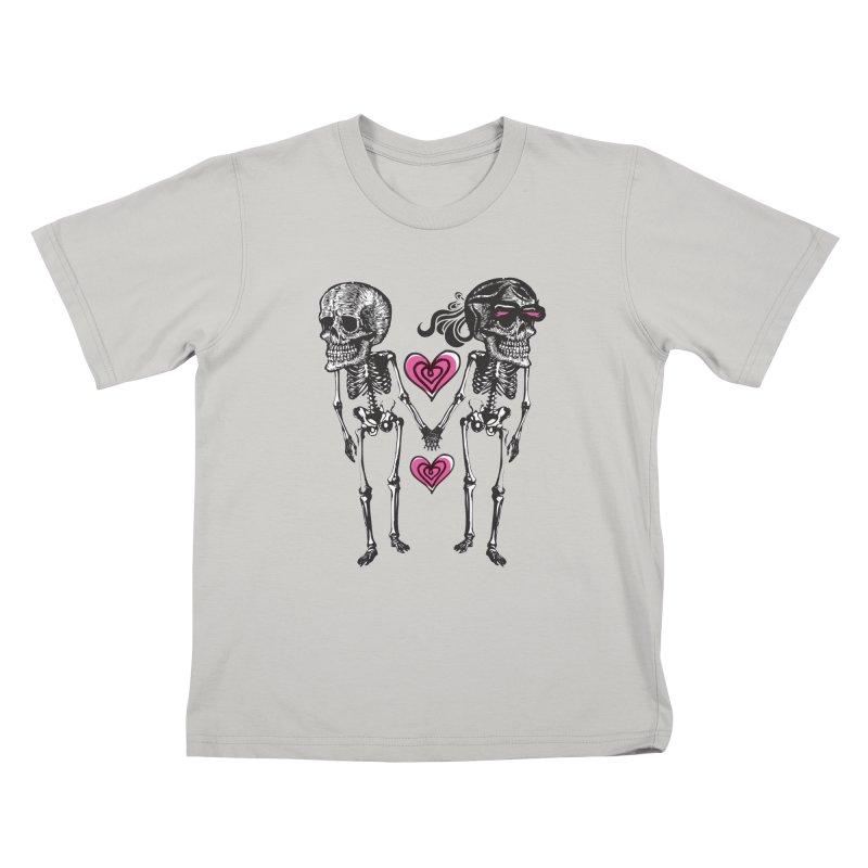 Till death do us part Kids T-Shirt by Lads of Fortune Artist Shop