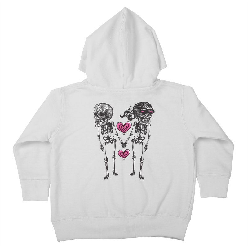 Till death do us part Kids Toddler Zip-Up Hoody by Lads of Fortune Artist Shop
