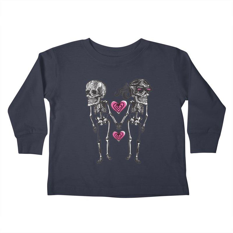 Till death do us part Kids Toddler Longsleeve T-Shirt by Lads of Fortune Artist Shop