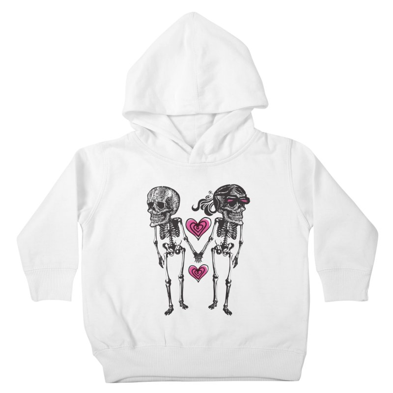 Till death do us part Kids Toddler Pullover Hoody by Lads of Fortune Artist Shop