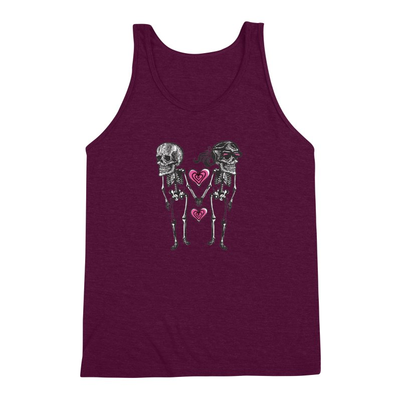 Till death do us part Men's Triblend Tank by Lads of Fortune Artist Shop