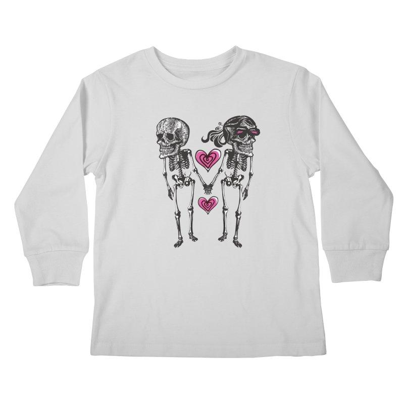 Till death do us part Kids Longsleeve T-Shirt by Lads of Fortune Artist Shop
