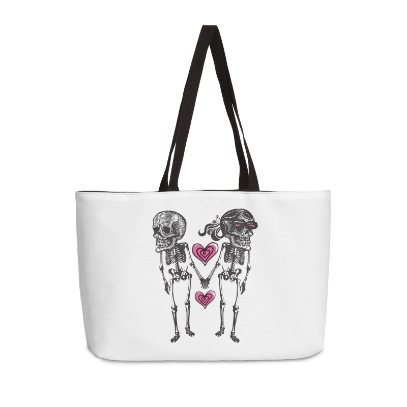 Till death do us part Accessories Weekender Bag Bag by Lads of Fortune Artist Shop