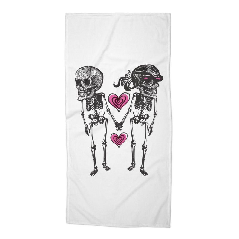 Till death do us part Accessories Beach Towel by Lads of Fortune Artist Shop