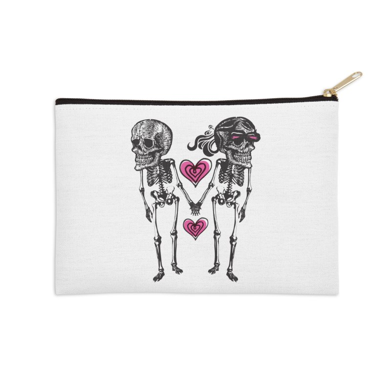Till death do us part Accessories Zip Pouch by Lads of Fortune Artist Shop