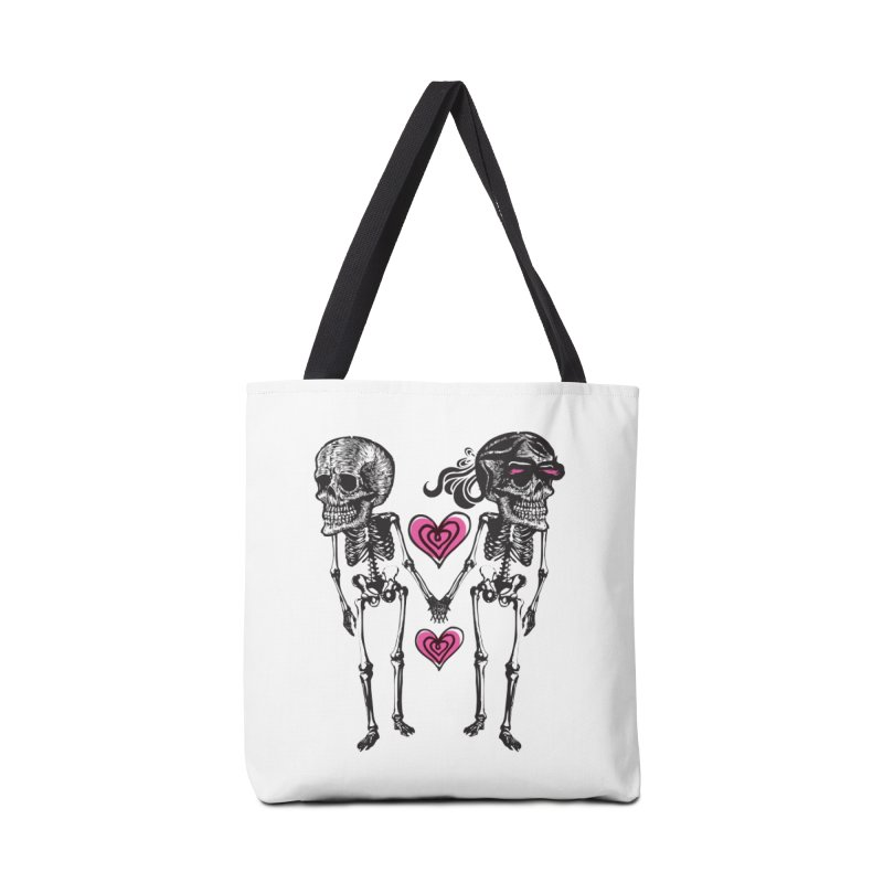 Till death do us part Accessories Bag by Lads of Fortune Artist Shop