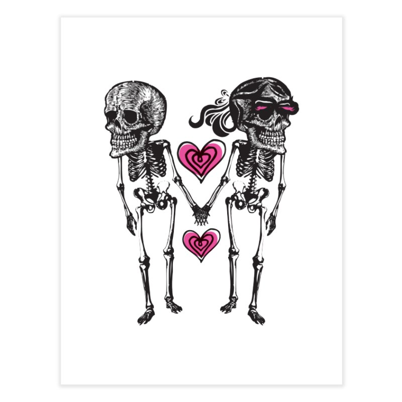 Till death do us part Home Fine Art Print by Lads of Fortune Artist Shop