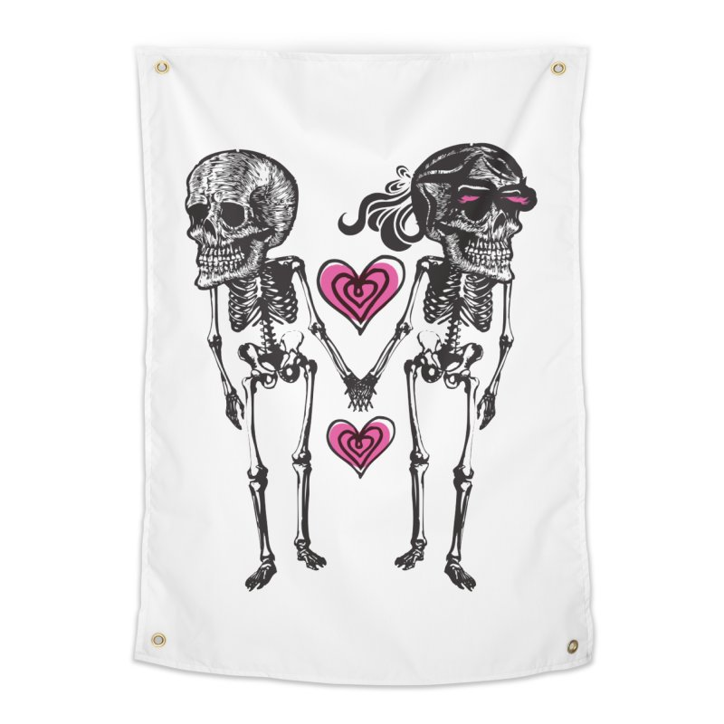 Till death do us part Home Tapestry by Lads of Fortune Artist Shop