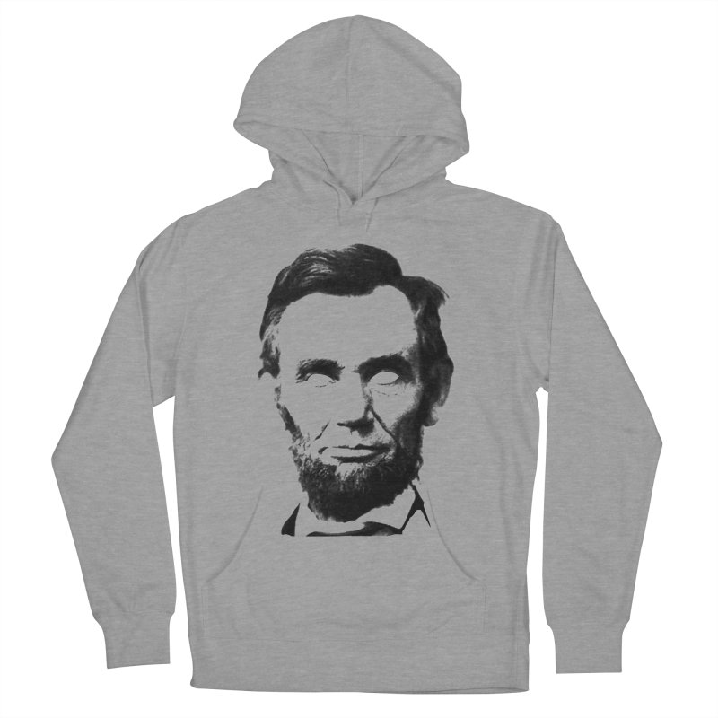 Abe Men's French Terry Pullover Hoody by Lads of Fortune Artist Shop