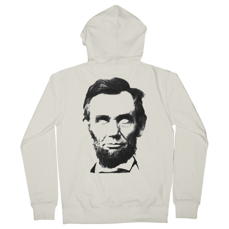 Abe Men's French Terry Zip-Up Hoody by Lads of Fortune Artist Shop