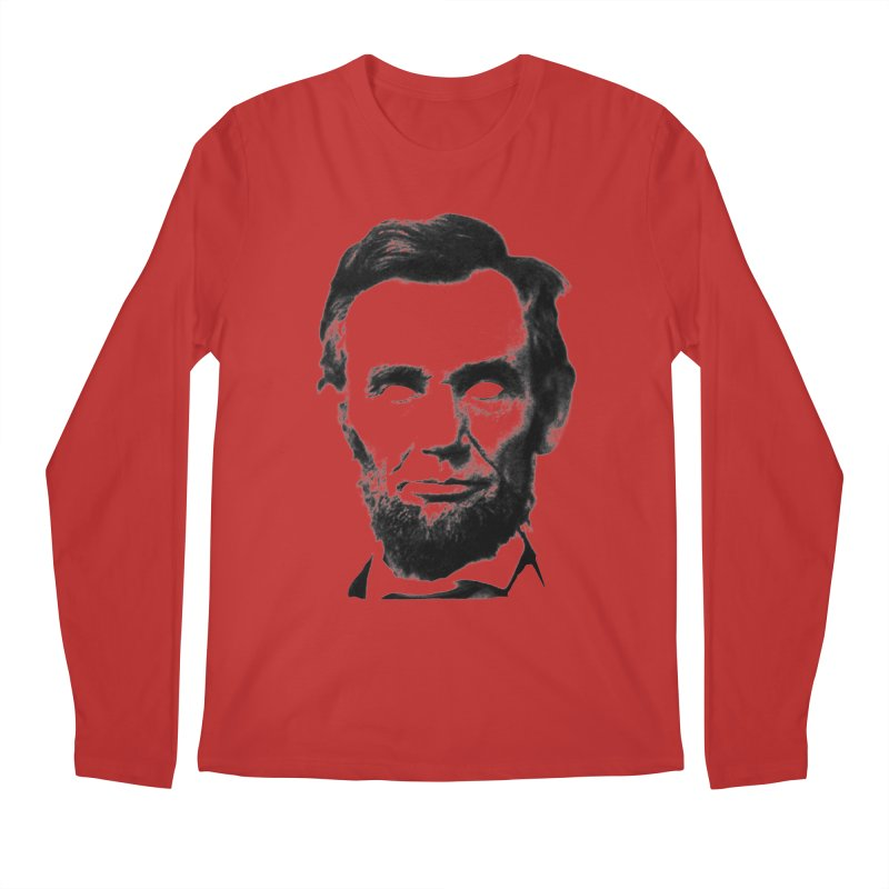 Abe Men's Regular Longsleeve T-Shirt by Lads of Fortune Artist Shop