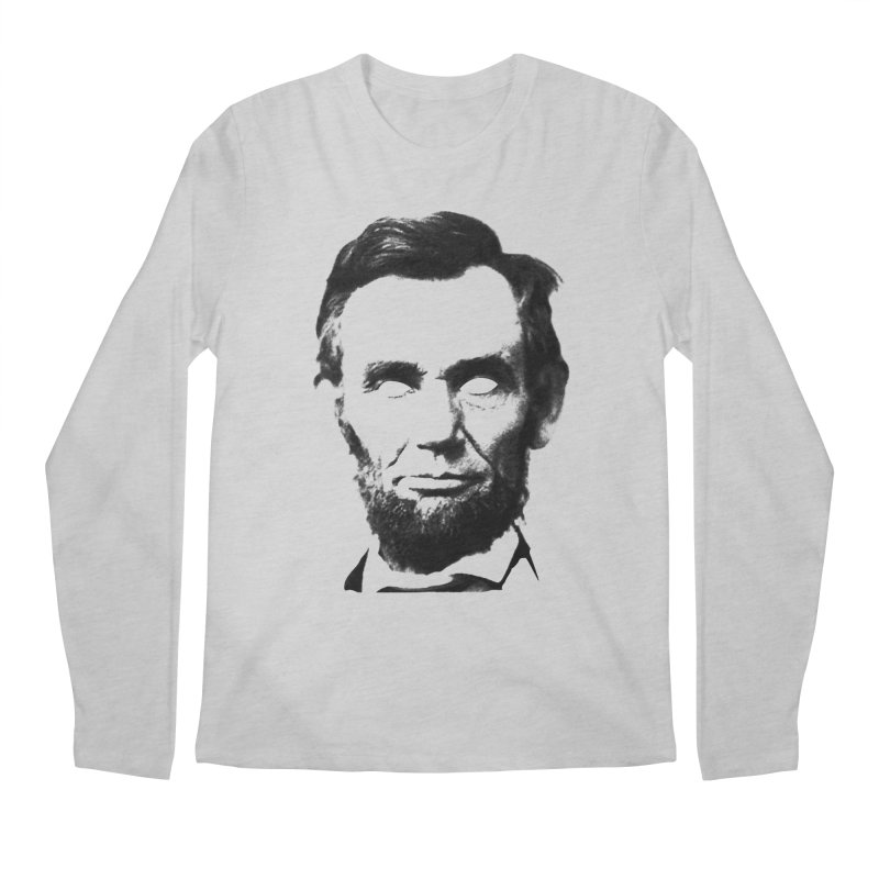 Abe Men's Longsleeve T-Shirt by Lads of Fortune Artist Shop