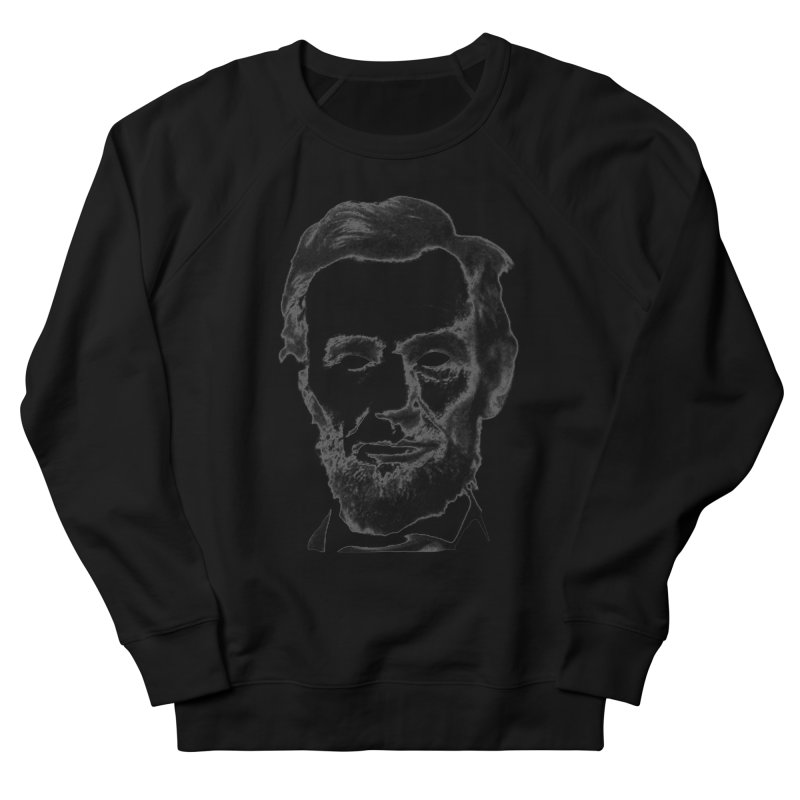 Abe Men's French Terry Sweatshirt by Lads of Fortune Artist Shop