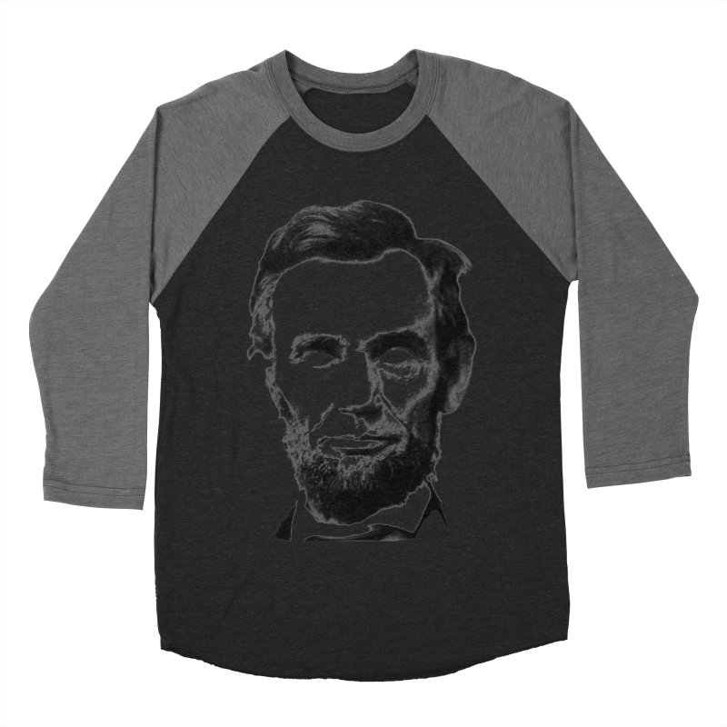 Abe Men's Baseball Triblend T-Shirt by Lads of Fortune Artist Shop