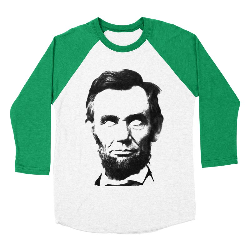 Abe Men's Baseball Triblend Longsleeve T-Shirt by Lads of Fortune Artist Shop