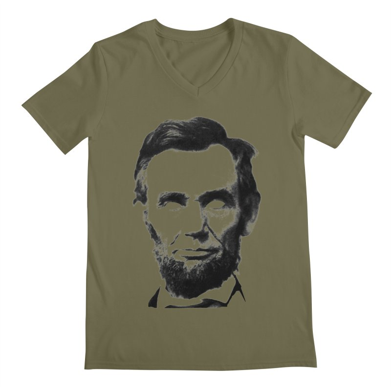 Abe Men's V-Neck by Lads of Fortune Artist Shop