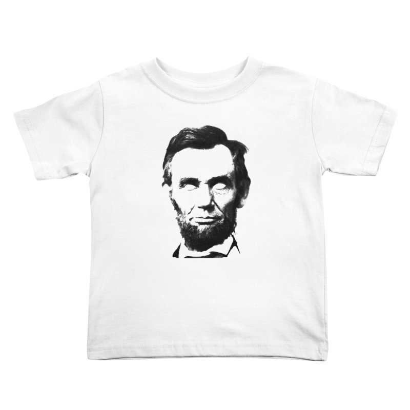 Abe Kids Toddler T-Shirt by Lads of Fortune Artist Shop