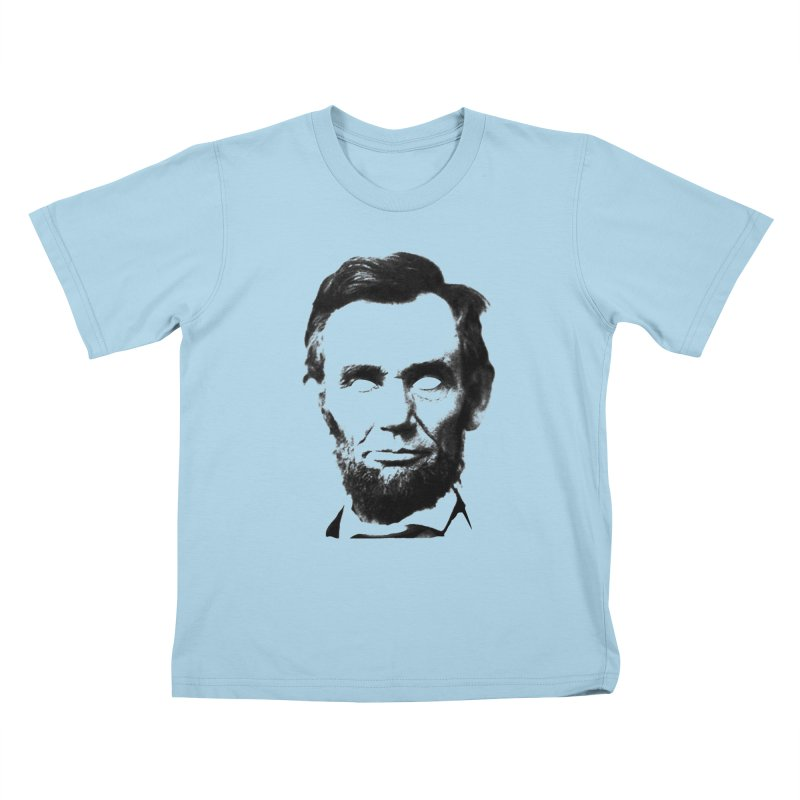 Abe Kids T-Shirt by Lads of Fortune Artist Shop