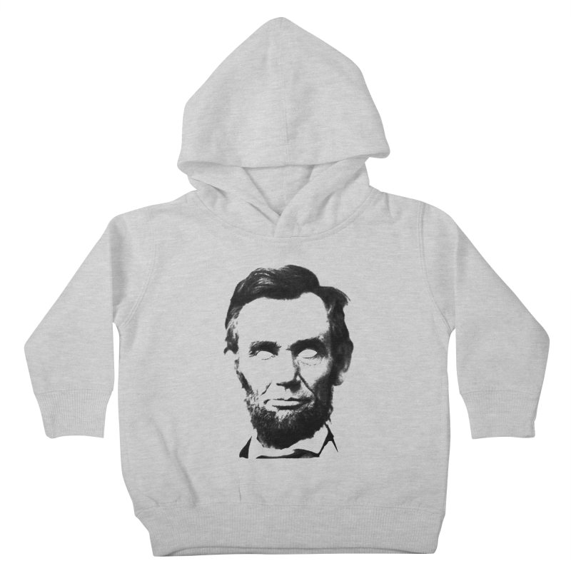 Abe Kids Toddler Pullover Hoody by Lads of Fortune Artist Shop