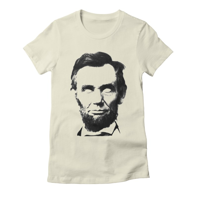 Abe Women's Fitted T-Shirt by Lads of Fortune Artist Shop