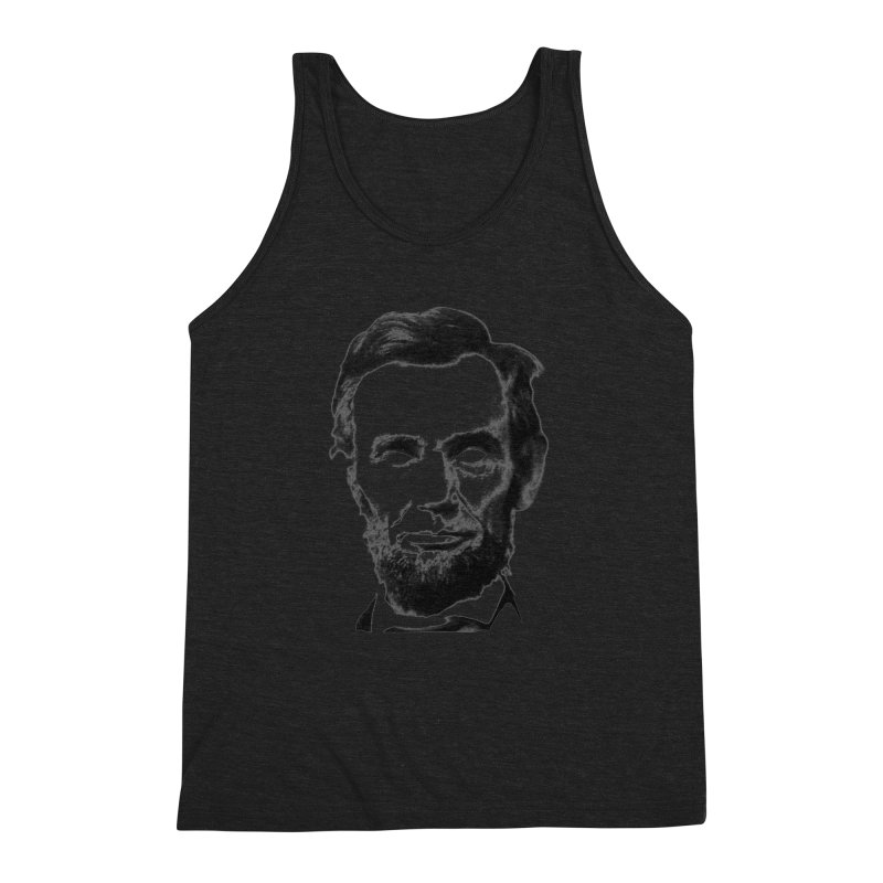 Abe Men's Triblend Tank by Lads of Fortune Artist Shop